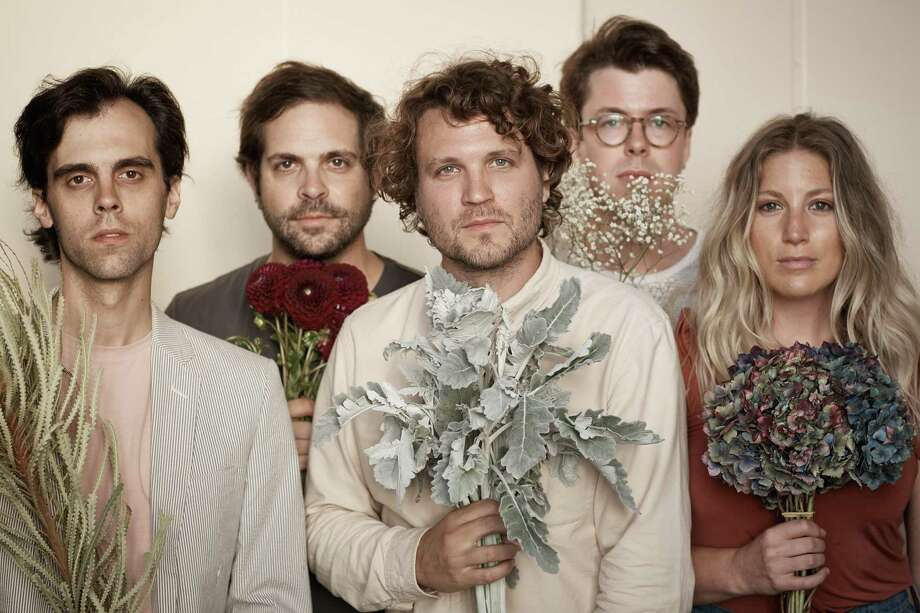 """PLAYING OAKDALE:Ra Ra Riot, shown here, will perfrom with Third Eye Blind and Jimmy Eat World at Oakdale Theatre in Wallingford Tuesday, July 9. Ra Ra Riot will release the new LP, """"Superbloom,"""" on the same day, with elements ofpsychedelia, new wave, punk and country. Tickets start at $22.25. See Oakdale.com. Photo: Tyler Soucy / Contributed Photo"""
