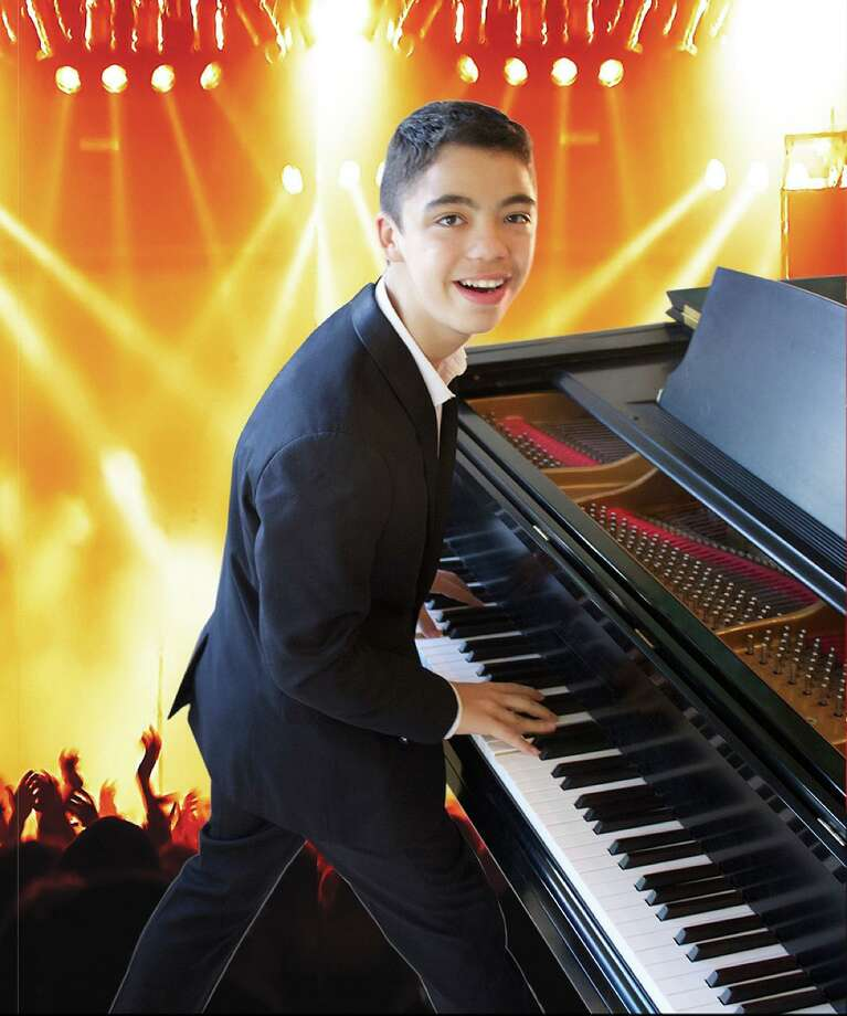 "Ethan Bortnick, a 17-year-old global music sensation and Guinness certified as ""The World's Youngest solo musician to headline his own concert tour"" is performing with his band at The Bushnell Sunday, Nov. 3. Photo: John Atashian / Contributed Photo"