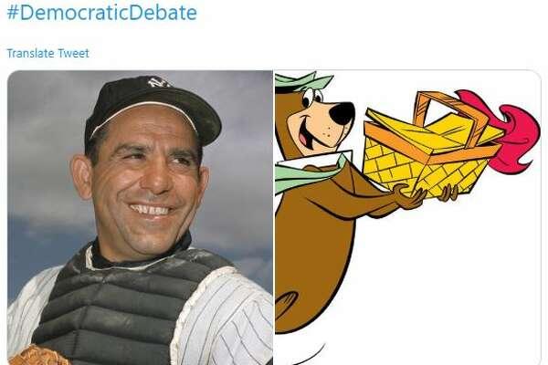 Twitter reaction to Democratic debate.