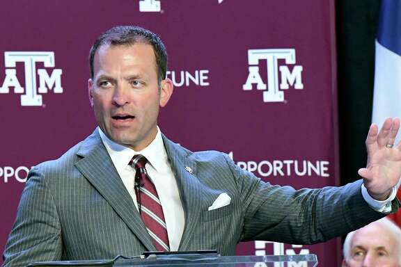 Texas A&M athletic director Ross Bjork has been on the job for four months after leaving Ole Miss, the Aggies' opponent Saturday.
