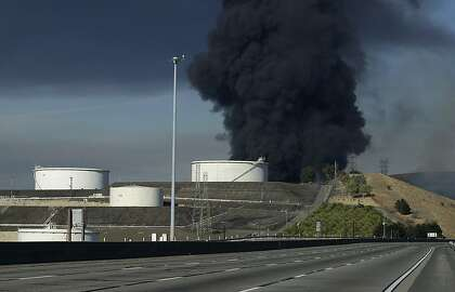 What did we breathe during East Bay fire, refinery flaring?
