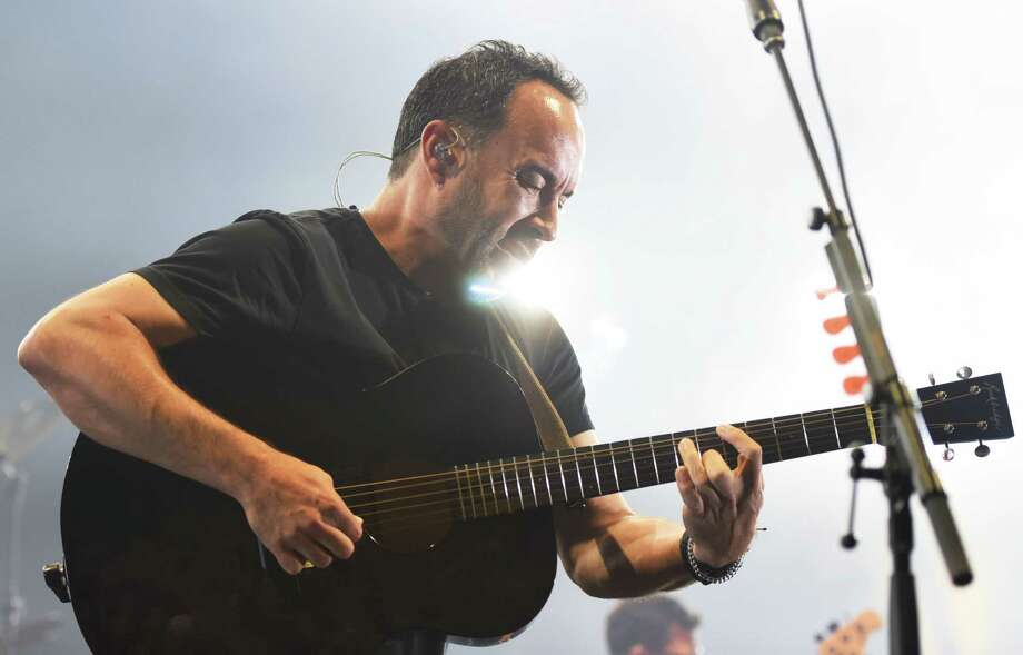 Dave Matthews performs alongside of Dave Matthews Band on Friday, July 12, 2019 at Saratoga Performing Arts Center in Saratoga Springs, NY. (Phoebe Sheehan/Times Union) Photo: Phoebe Sheehan / 40047399A