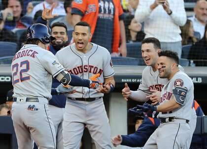 Astros the Golden State Warriors of baseball? Let's slow the dynasty talk