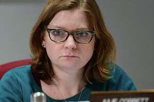 Norwalk Board of Education member Julie Corbett
