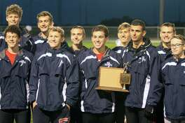 The USA boys cross country team won the Greater Thumb Conference West title on Tuesday.