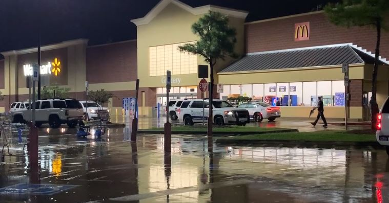 Manhunt underway for masked man who fired gun inside Houston-area Walmart