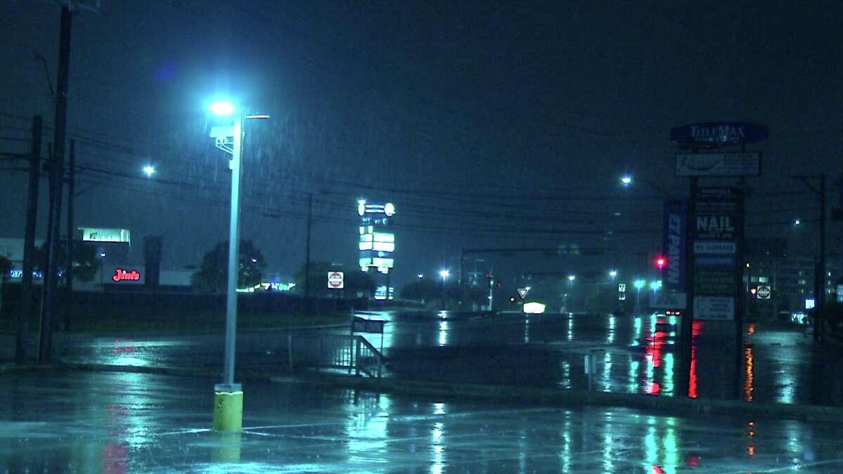 Storms cause flooding across San Antonio.