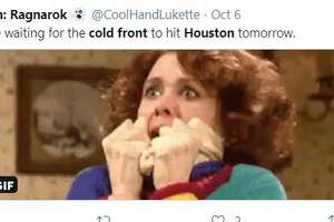 """Social media reacts to Houston's """"cold front."""""""