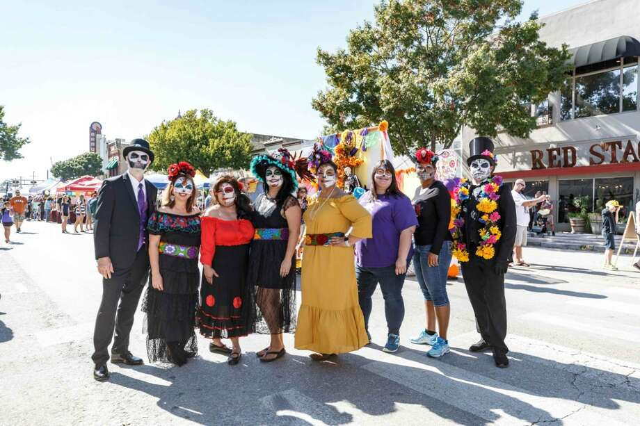 The New Braunfels Hispanic Business Alliance presents the 4th Annual Dia de los Muertos festival in downtown on Oct. 26. Photo: New Braunfels Hispanic Business Alliance