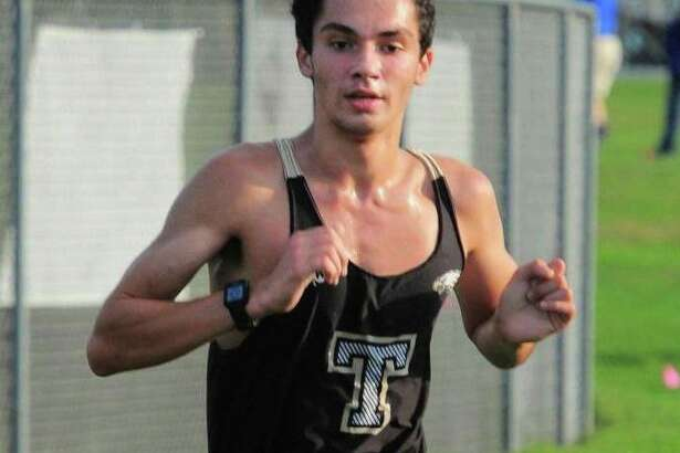 Cyrus Asgari earned first team All-FCIAC honors at the league championships.