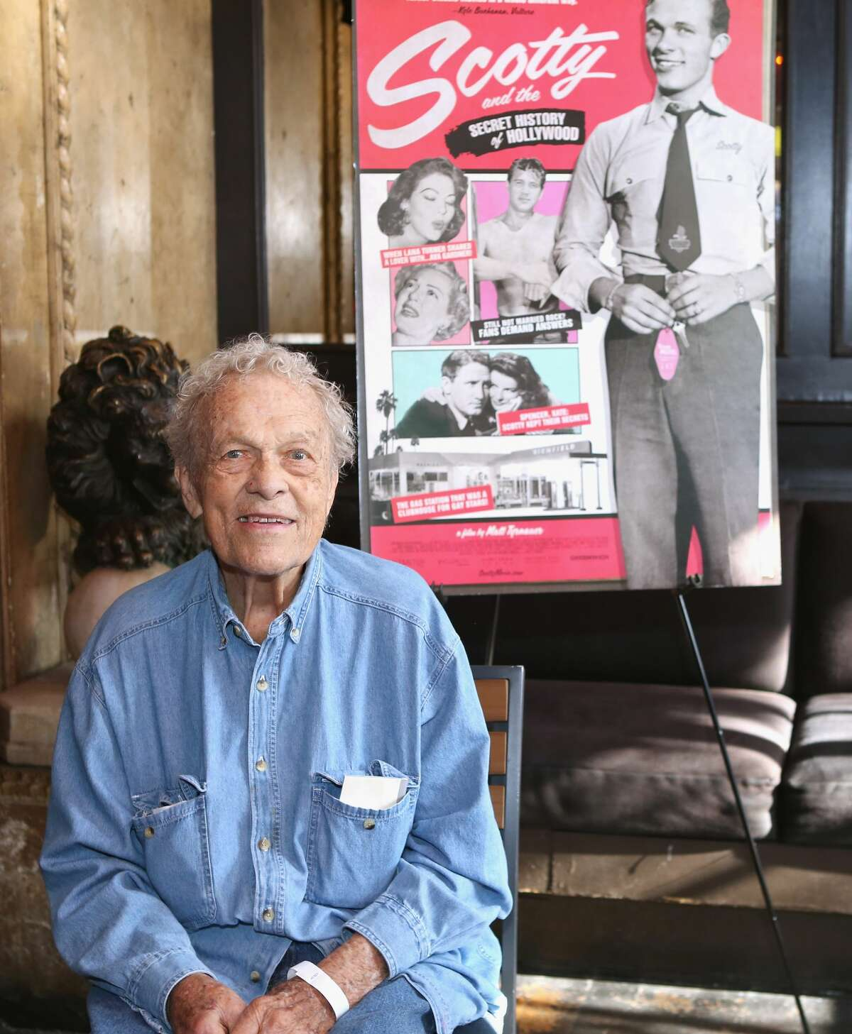 The City of West Hollywood honors Hollywood legend Scotty Bowers at The Abbey on July 25, 2018.