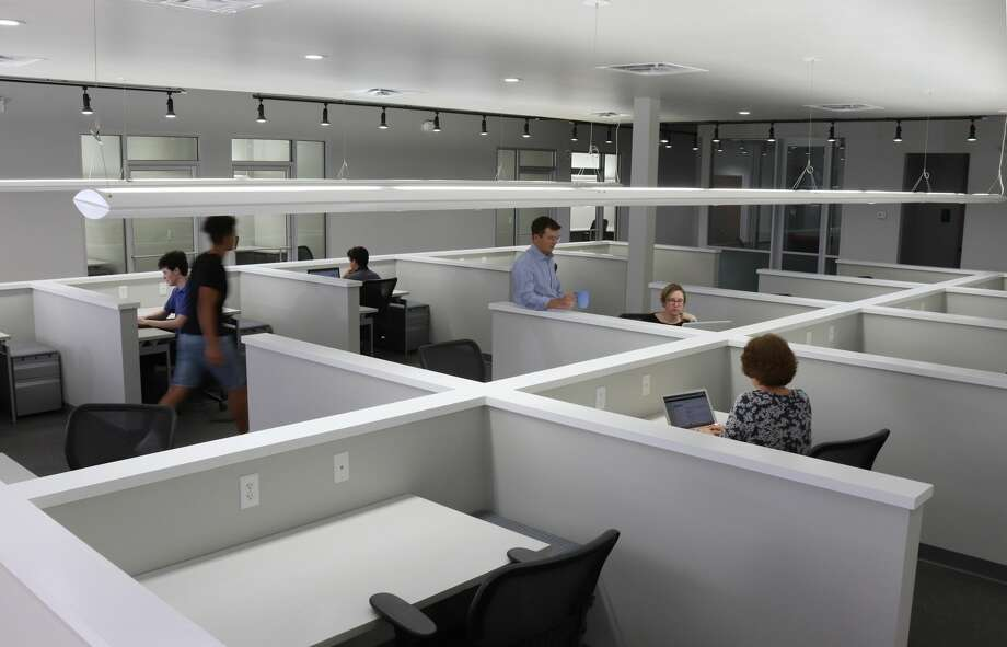 Origin Cowork is launching its first facility at 1000 North Post Oak Road. Photo: Courtesy Of Origin Cowork