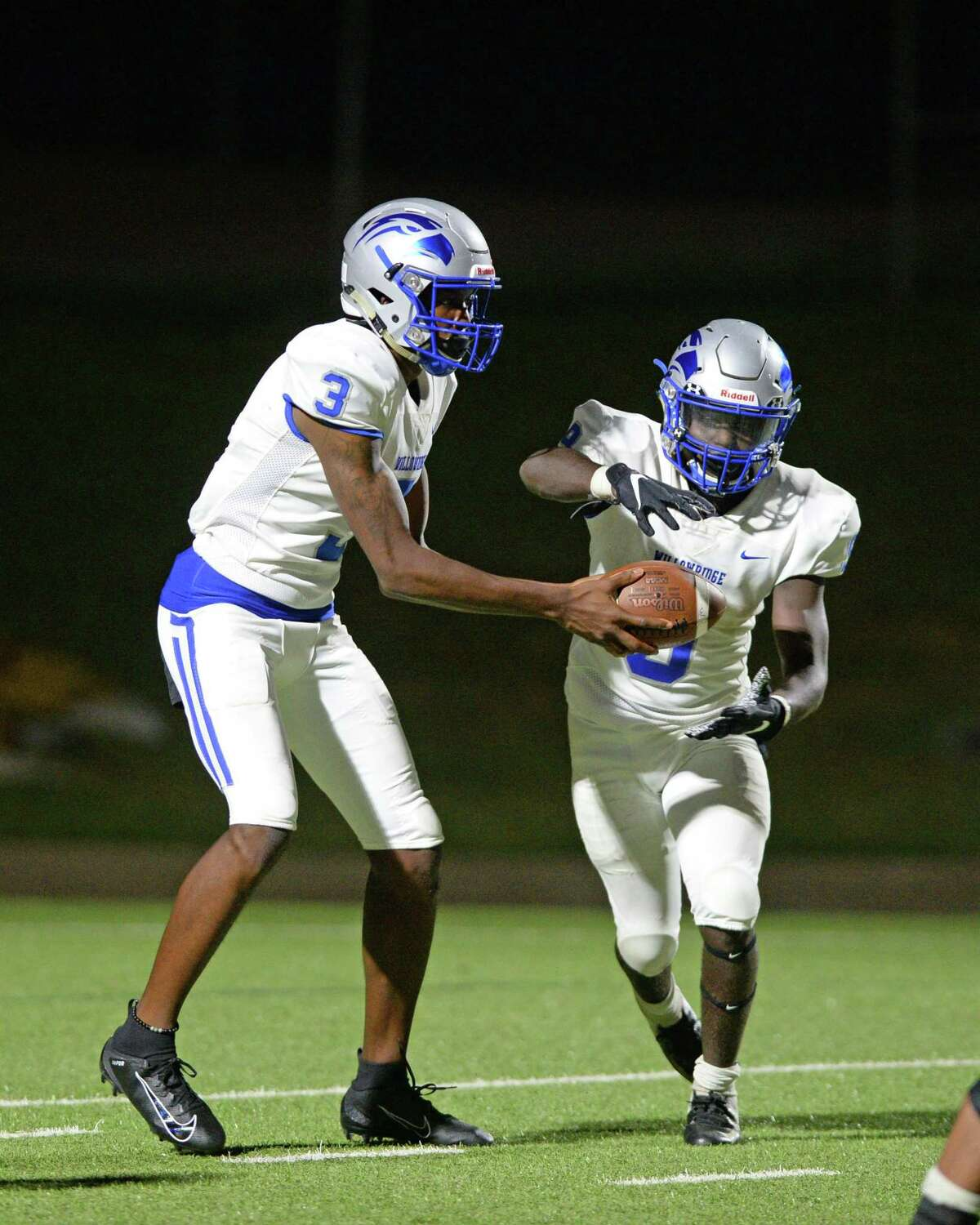 Willowridge remains undefeated this season after winning in a 47-7 rout over Northside. Rufus Scott, left, and Javion Chatman combined for four scores.