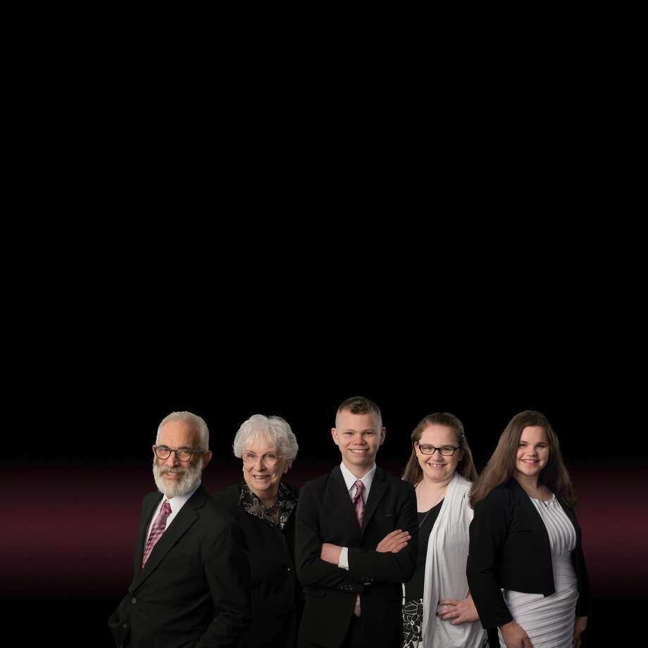 Pictured is Lynn Bromley, her son Brett and three of his children, Therese, Gianna and Josef, who all make up the family gospel group known as Northern Edge. (Courtesy Photo) Photo: Courtesy Photo