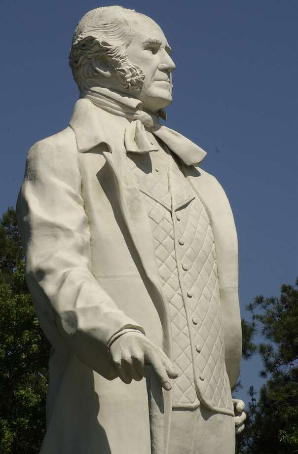 David Adickes' tribute to Sam Houston is no ordinary monument. Standing 67 feet tall, the statue is touted as the world's largest of an America hero. It's also reportedly the most photographed statue in Texas. Houston lived his last days in Huntsville where he died on July 26, 1863, at age 70. Photo: Steve Ueckert, Staff / Houston Chronicle / © Houston Chronicle