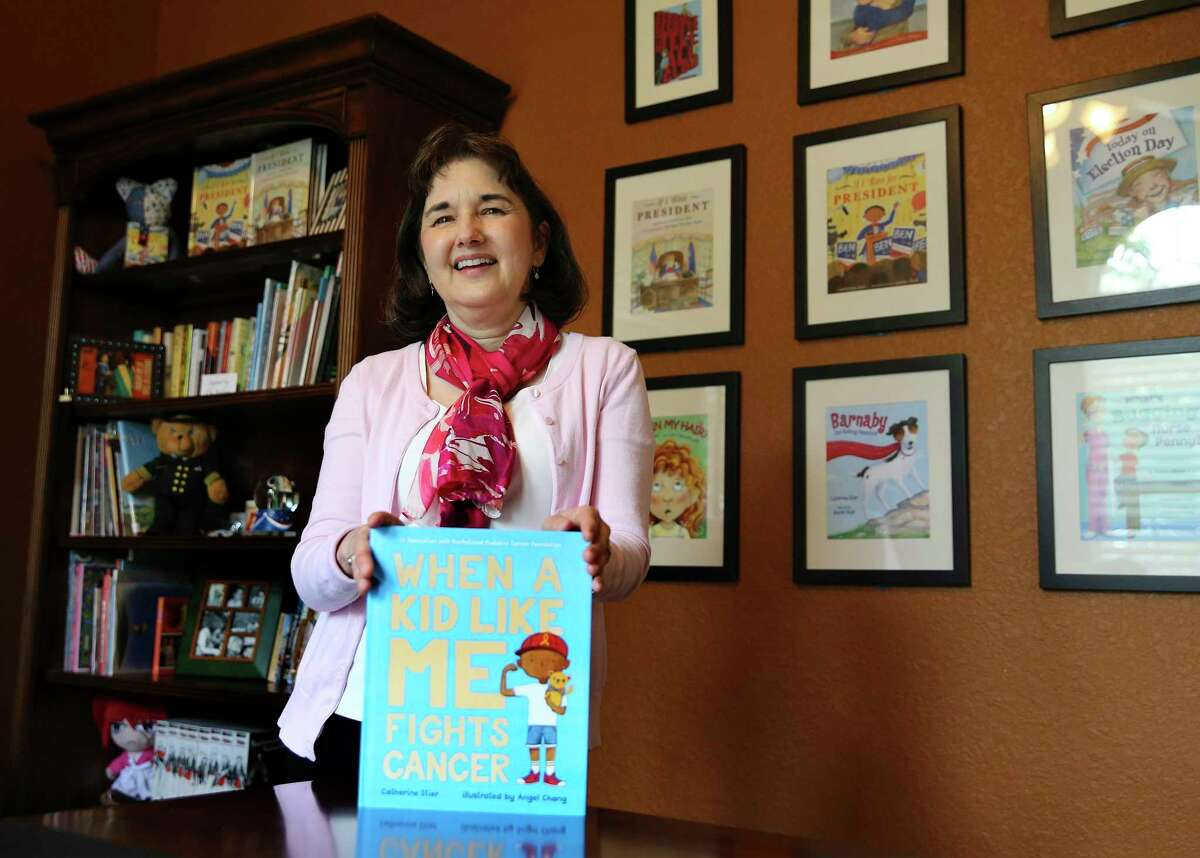 """Catherine Stier's new book """"When a Kid Like Me Fights Cancer"""" sends the message that childhood cancer patients are not alone."""