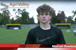 Mitchell Rowland is Agri-Valley Communications Athlete of the Week.