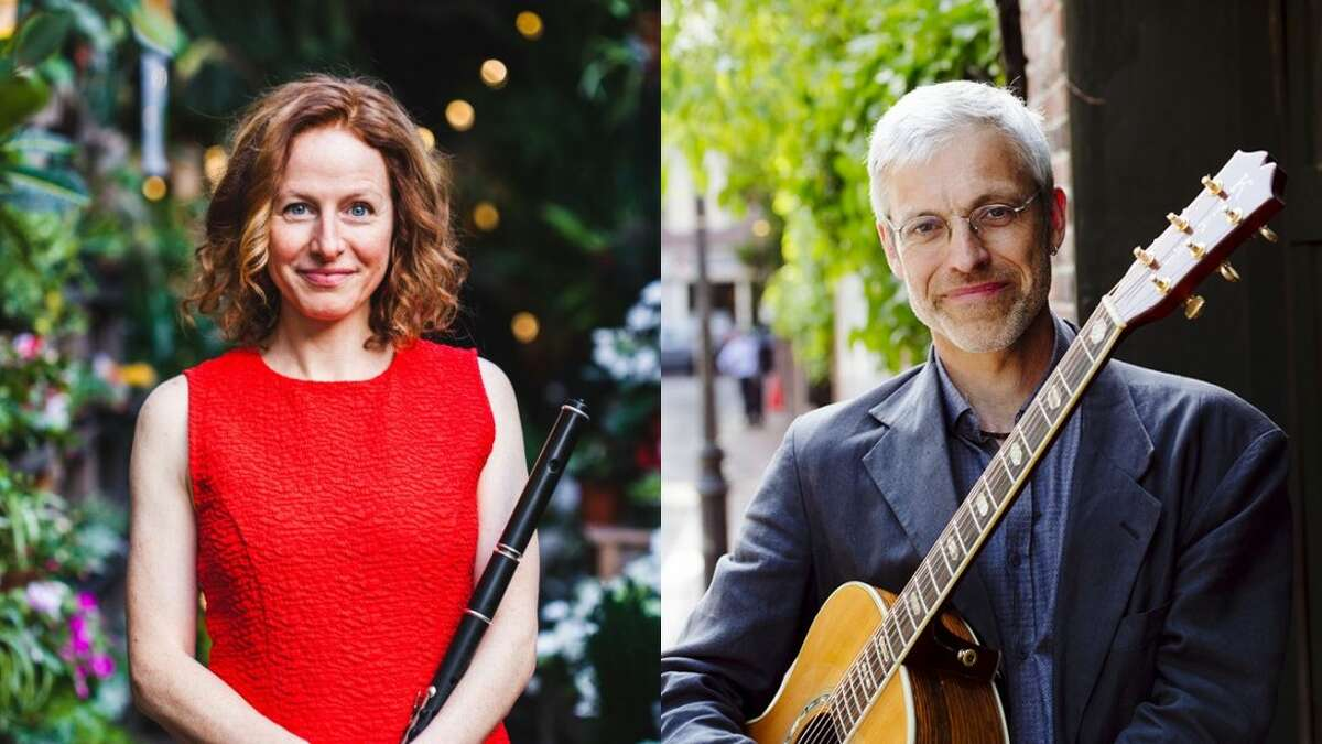 Shannon Heaton & Keith Murphy at Old Songs. (Provided)