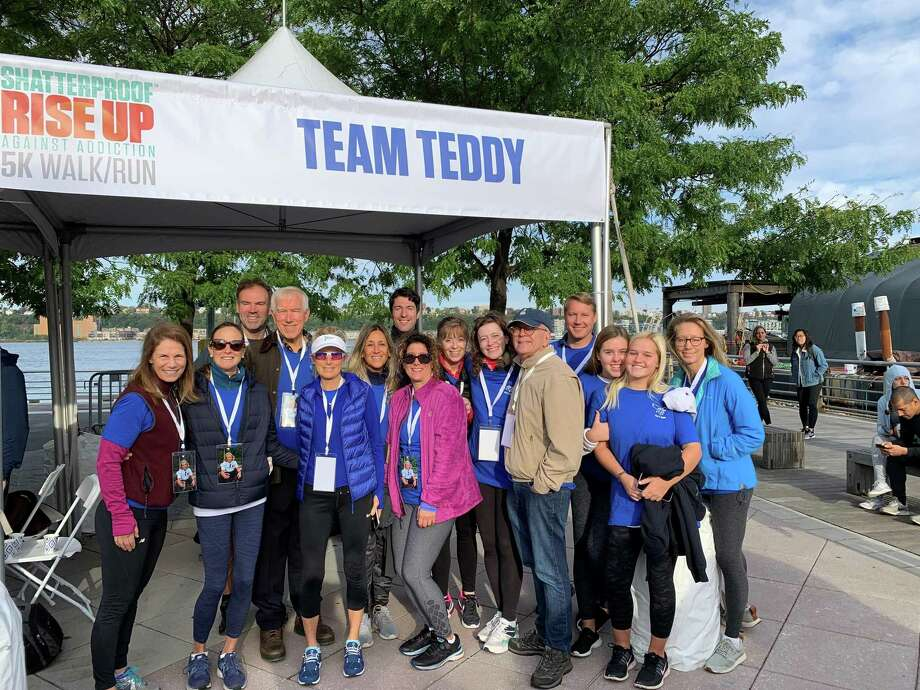 Team Teddy for Darien's Teddy Gray Photo: Contributed Photo