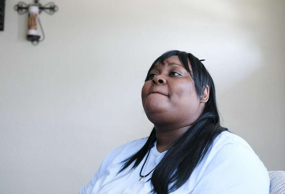 "Jessica Byas-Lurgio said she believed her race and economic status factored in the way doctors, police and the courts handled her case. ""It was like, because I was black, nobody believed me,"" she said. Photo: Elizabeth Conley/Staff Photographer / © 2019 Houston Chronicle USE ONLY IN DO NO HARM: This image may not be resold. No archive. No standalone internet. No social me"