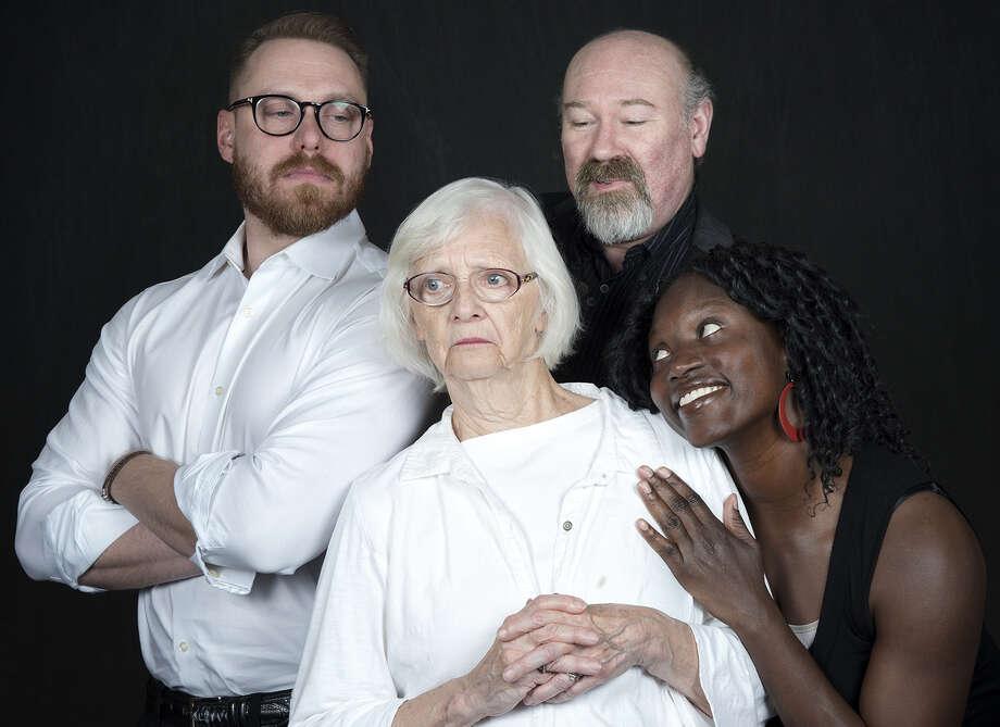(left to right): Tom Templeton, Carole Edie Smith, Scott Wasser, Diaka Kaba Hill