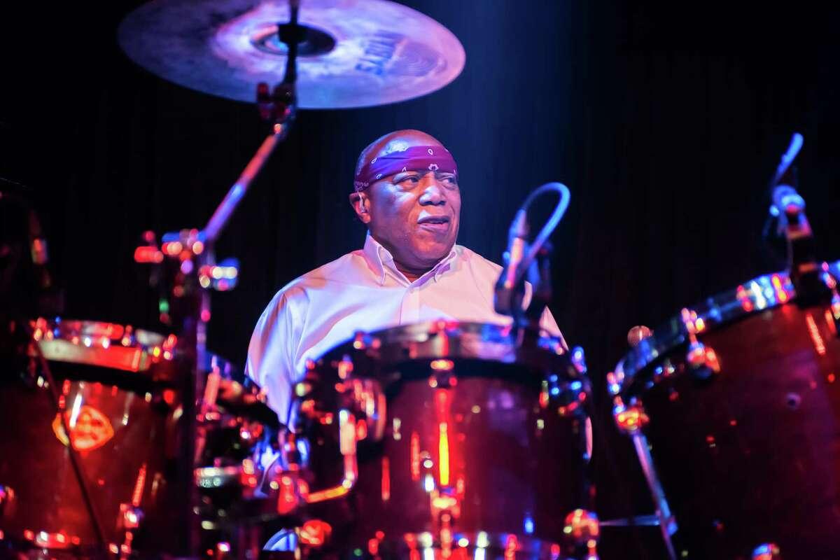 LONDON, ENGLAND - DECEMBER 05: Billy Cobham performs at The Jazz Cafe on December 5, 2018 in London, England. (Photo by Robin Little/Redferns)
