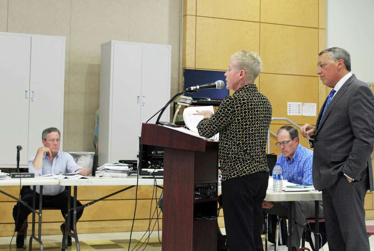Carol Martin, Executive Director of the Fairfield Housing Authority, spoke to the need for affordable housing in town.