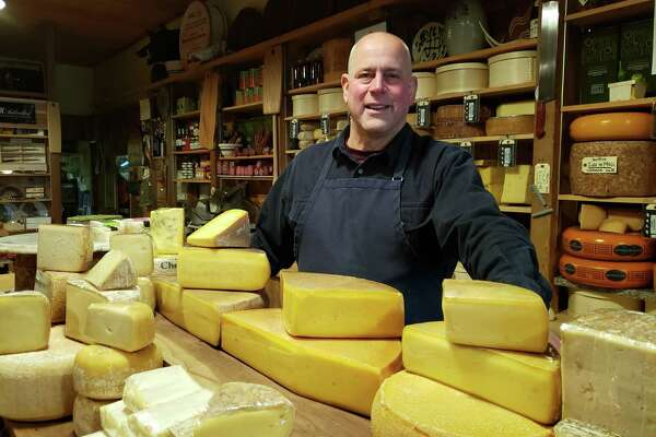 Ken Skovron, of Darien Cheese and Fine Foods, filled me in on the annual cycle of pasture grass and its impact on the cheese.
