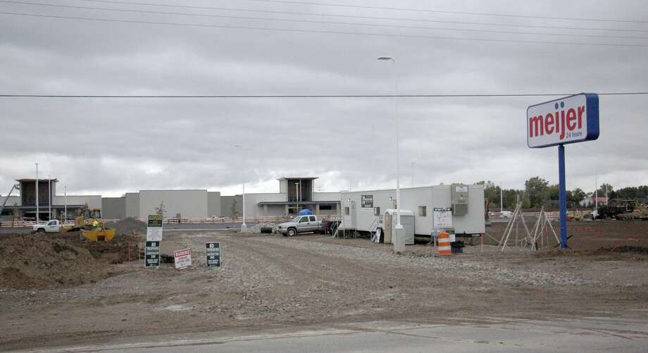 Meijer's property, which is just north and west of the intersection of M-142 and M-53, will feature a drive-up pharmacy, garden center, and gas station/convenience store. Although officials have confirmed the store will open next year, it's unclear when. Photo: Bradley Massman/Huron Daily Tribune