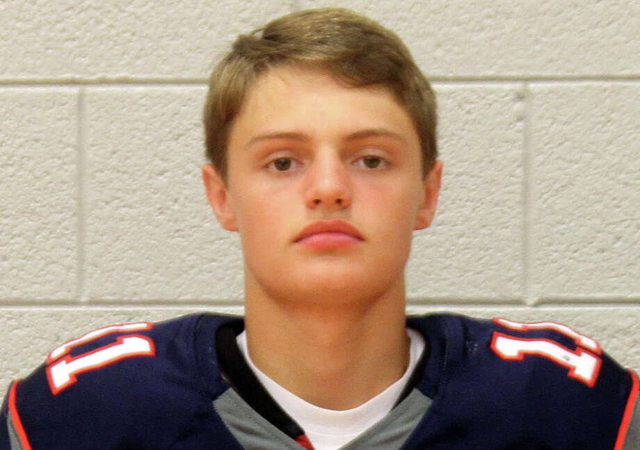 Landin Zimmer is a member of the Unionville-Sebewaing varsity football team. Photo: Eric Rutter/Huron Daily Tribune, File