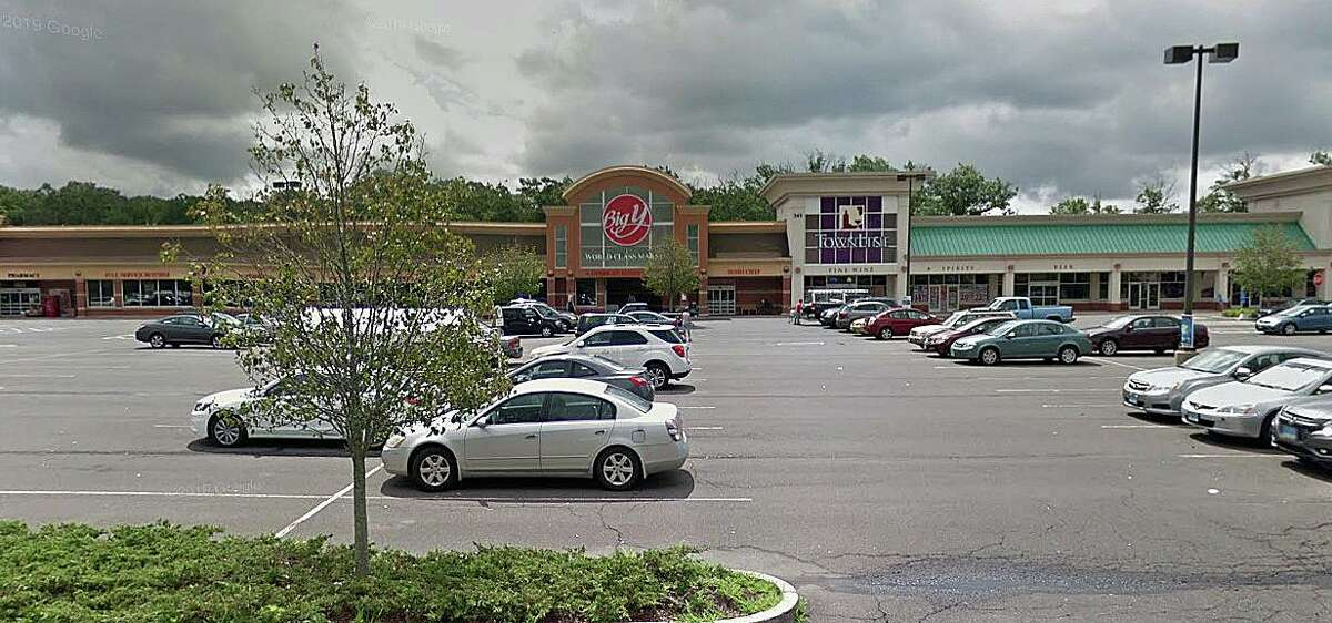A Google streetview screenshot of the Big Y in Stratford, Conn.