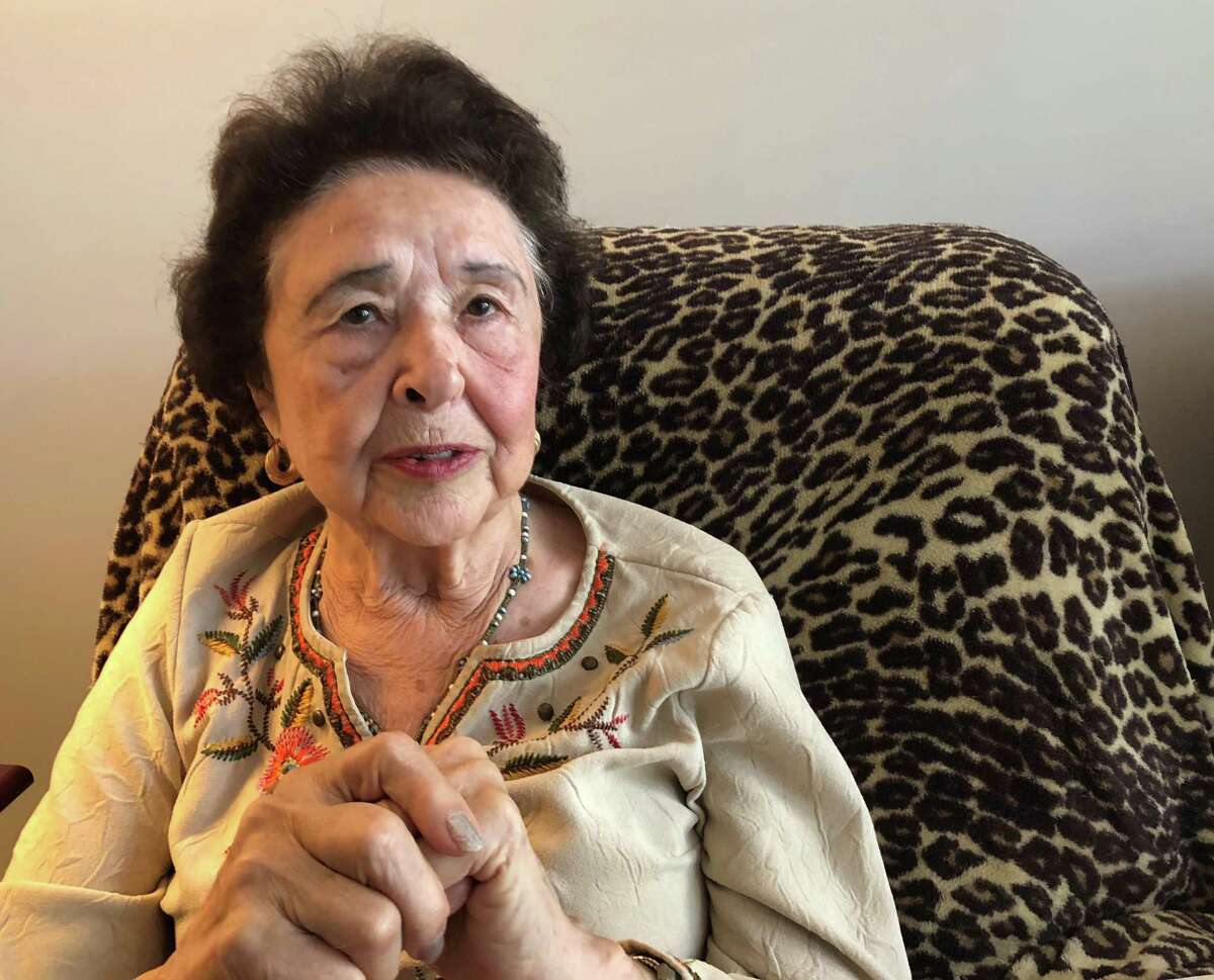 Elsie Cruey, 83, has been told she must vacate by Thursday, Oct. 17, 2019. Among her lease violations is a claim that she took too many cookies from a community event.