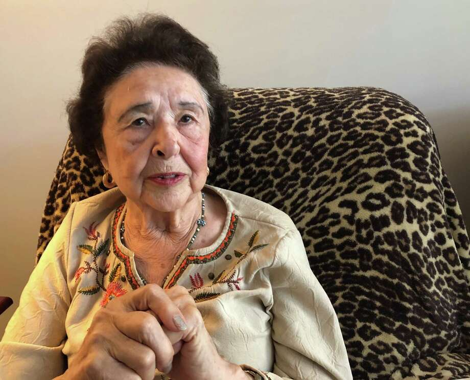 Elsie Cruey, 83, has been told she must vacate by Thursday, Oct. 17, 2019. Among her lease violations is a claim that she took too many cookies from a community event. Photo: Washington Post Photo By Theresa Vargas. / The Washington Post