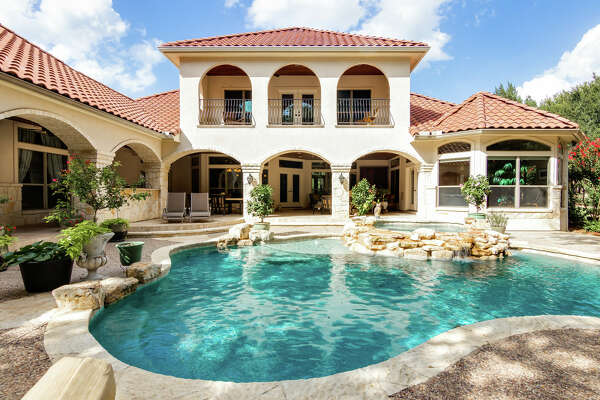 8106 Wild Wind Park in Garden Ridge $1,175,000 Sunday October 20th from 12:00-4:00p Imagine owning your own meditation garden. First floor luxurious master wing with private patio access and lux master bath with his/her custom closets. Guests bedroom with secondary living upstairs. Guest casita with garage and private entrance opens to the outdoor oasis. Accompanied by your very own outdoor paradise- pool, spa, outdoor kitchen and oversized gas firepit. In the coveted Garden Ridge community of Wild Wind. Contact: Denise Graves 210-260-2176;denise@thegravesgroup.com Portfolio Real Estate, The Graves Group
