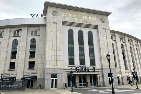 Yankee Stadium was a hub of inactivity Wednesday, when rain postponed Game 4 of the American League Championship Series until Thursday night.