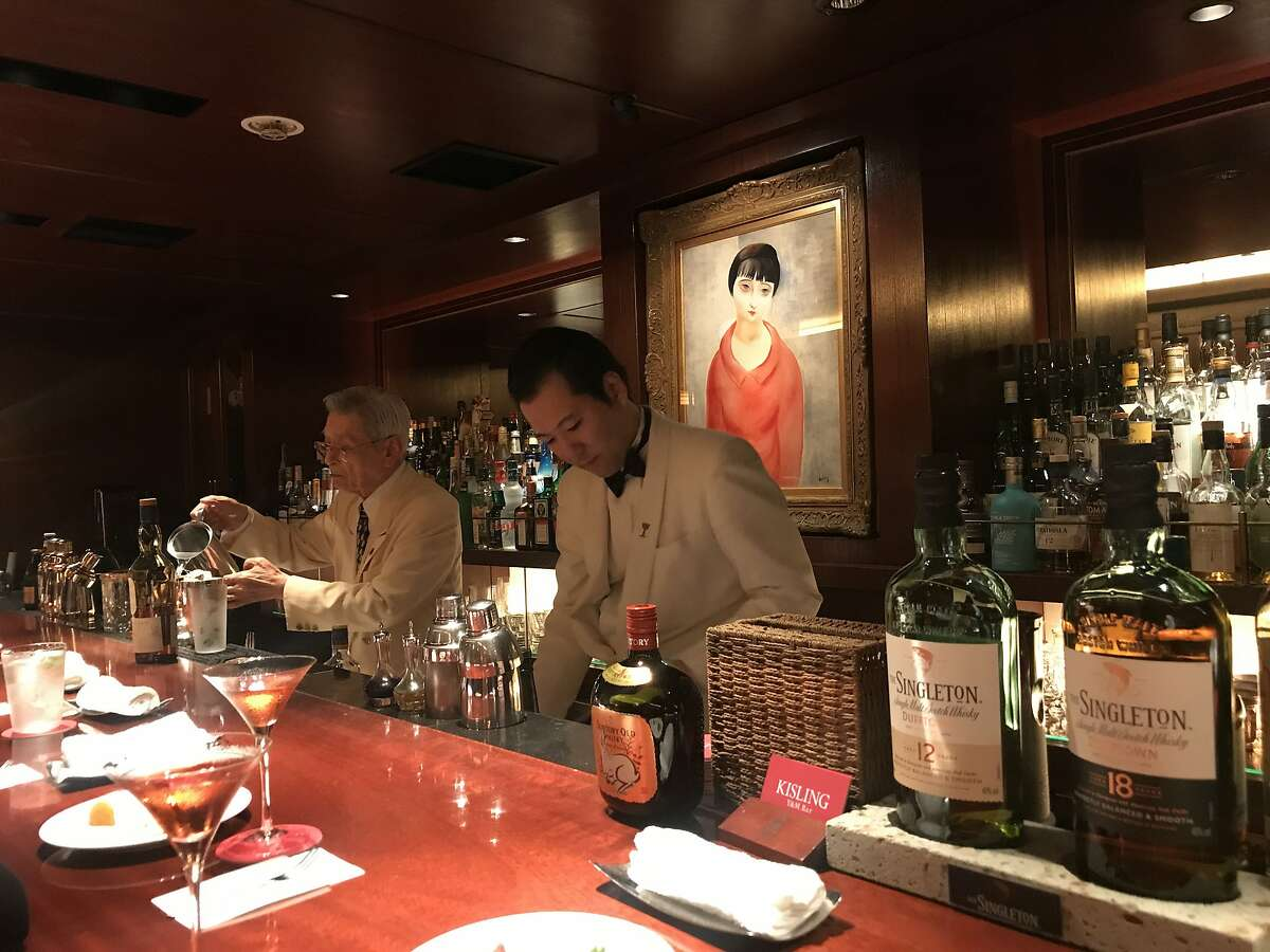 Y& Bar Kisling in Tokyo exemplifies the meticulous style of Japanese cocktail bars.
