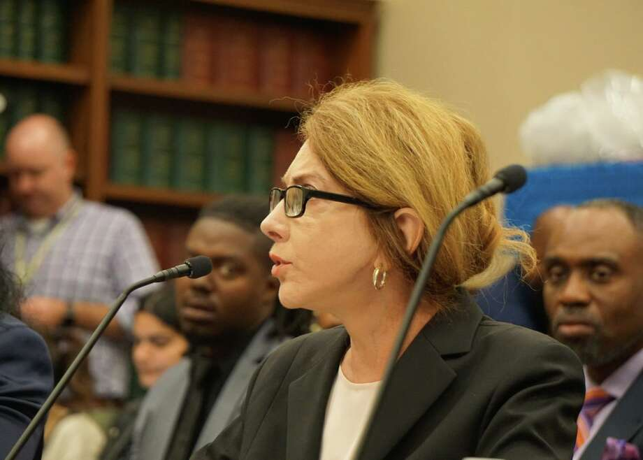 Sally Satel, scholar at the American Enterprise Institute and psychiatry lecturer at Yale School of Medicine, testified to a House Appropriations subcommittee at the U.S. Capitol in Washington, D.C. on Wednesday October 16, 2019. Photo: Emilie Munson / Hearst Connecticut Media / Connecticut Post