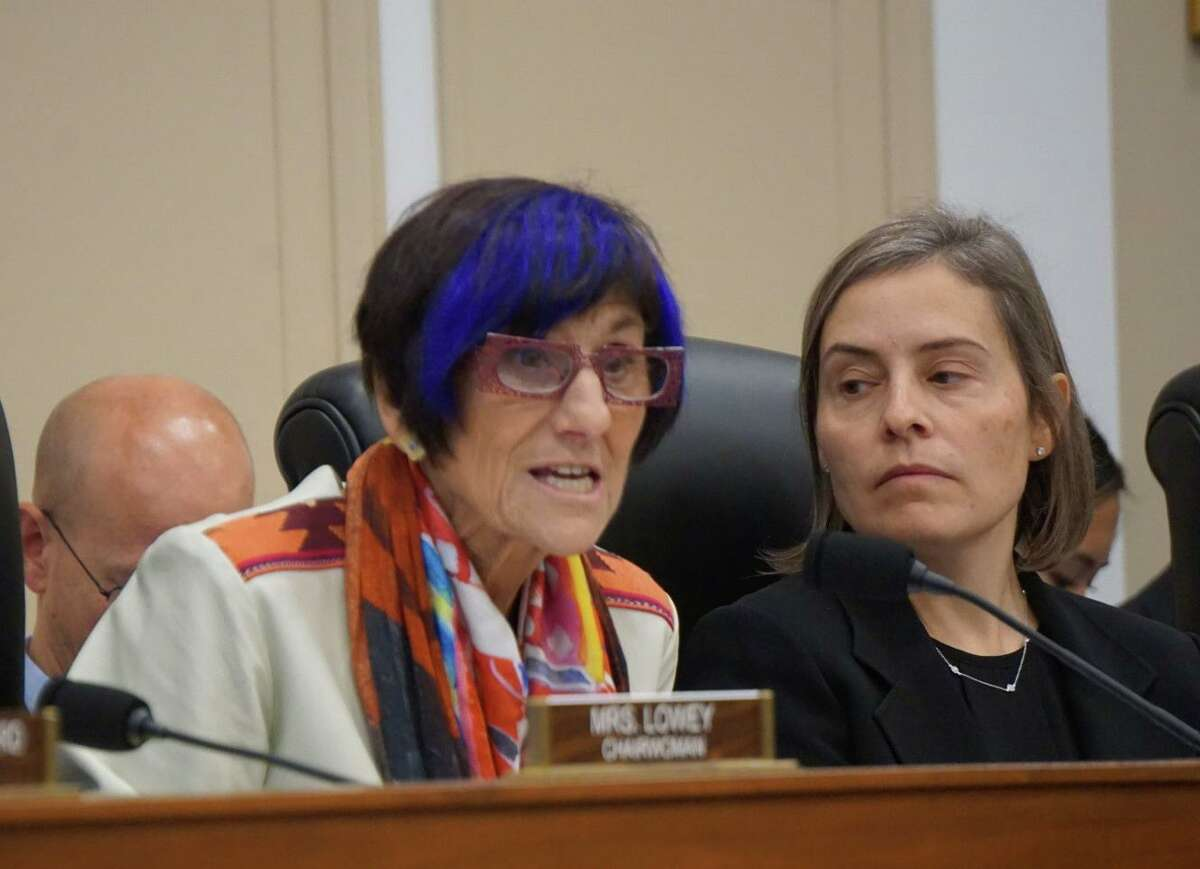 U.S. Rep. Rosa DeLauro, D-New Haven, chaired a hearing of the House Appropriations Labor, Health and Human Services Subcommittee on vaping and e-cigarettes at the U.S. Capitol in Washington D.C. on Wednesday.