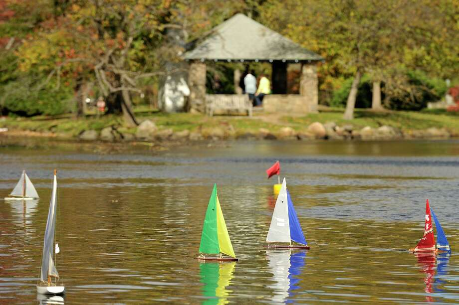The Old Greenwich-Riverside Community Center will hold its annual Model Sailboat Regatta from 1 to 4 p.m. Sunday at Binney Park. Model sailboat enthusiasts of all ages are welcome, with categories for homemade boats, motorized and remote-controlled boats. To buy a ticket, visit myogrcc.org. Walk-ins are welcome. For more info, call 203-637-3659. Photo: File / Hearst Connecticut Media / Stamford Advocate