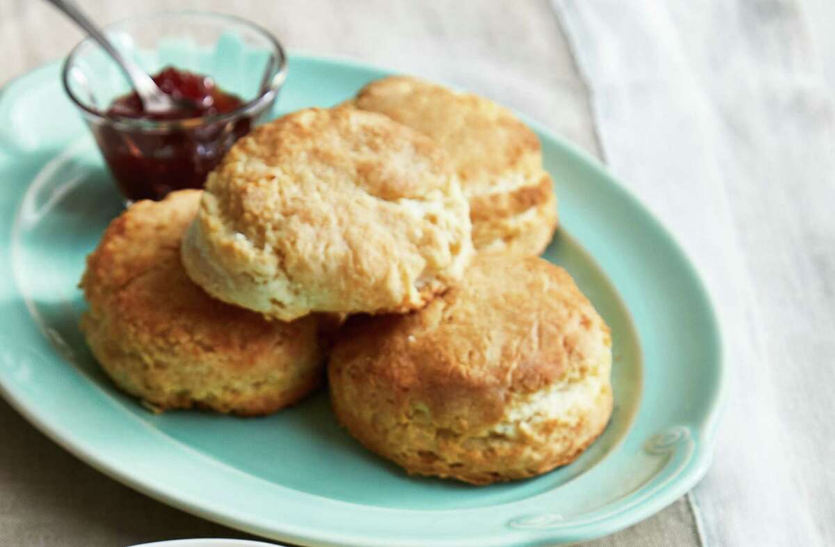 """Basic Southern Sturdy Biscuits from """"Nathalie Dupree's Favorite Stories & Recipes"""""""