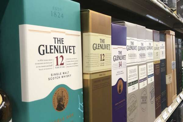 Scotch whiskey like Glenlivet will be taxed along with French wines and other European goods as a part of a 25% tariff taking effect on Oct. 18.
