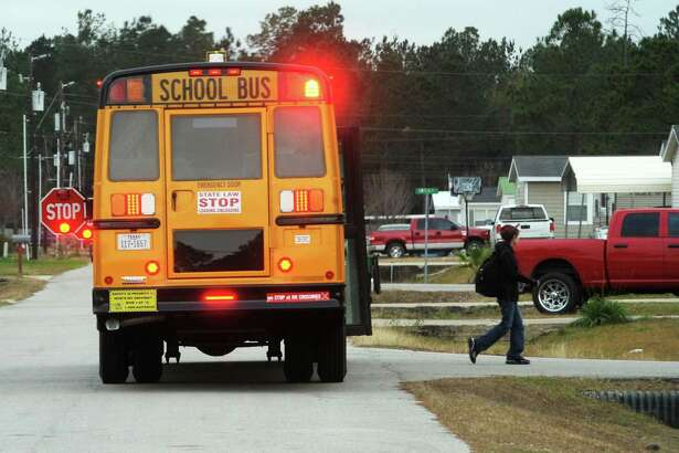 Lumberton ISD officials are offering the public an opportunity to voice their views on possible changes to the 2016-2017 school calendar. The decision to allow public opinion to guide policy stems from House Bill 2610 that gives districts more flexibility to schedule around unplanned days off. A lumberton student exits a school bus early Thursday evening. Photo taken Thursday, January 14, 2016 Guiseppe Barranco/The Enterprise