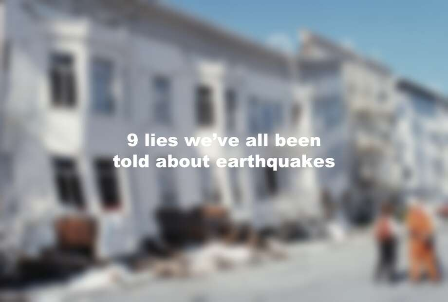 9 lies we've all been told about earthquakes Photo: Getty