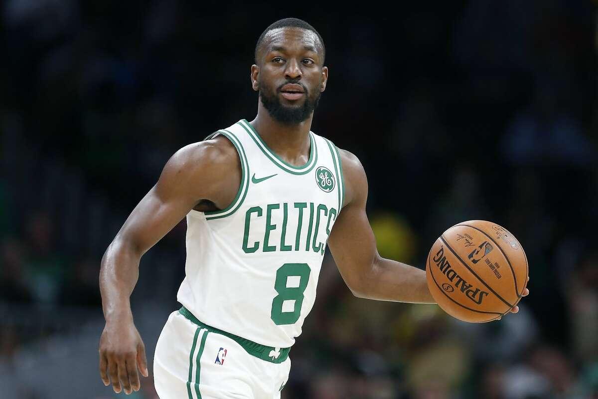 14. (tie) Kemba Walker, Guard, Boston Celtics Odds to win NBA MVP: +4,000 (AP Photo/Michael Dwyer)