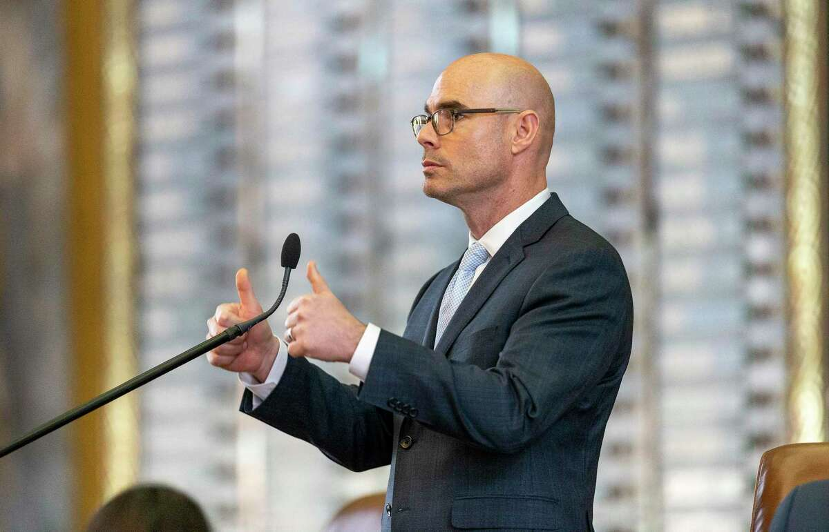 Speaker of the House Dennis Bonnen, R-Angleton, at the Texas Capitol in Austin, Wednesday, April 3, 2019. Bonnen has been in embroiled in a scandal in which he offered conservative activist Michael Quinn Sullivan access to the Texas House floor if Sullivan promised to target moderate House Republicans in 2020.