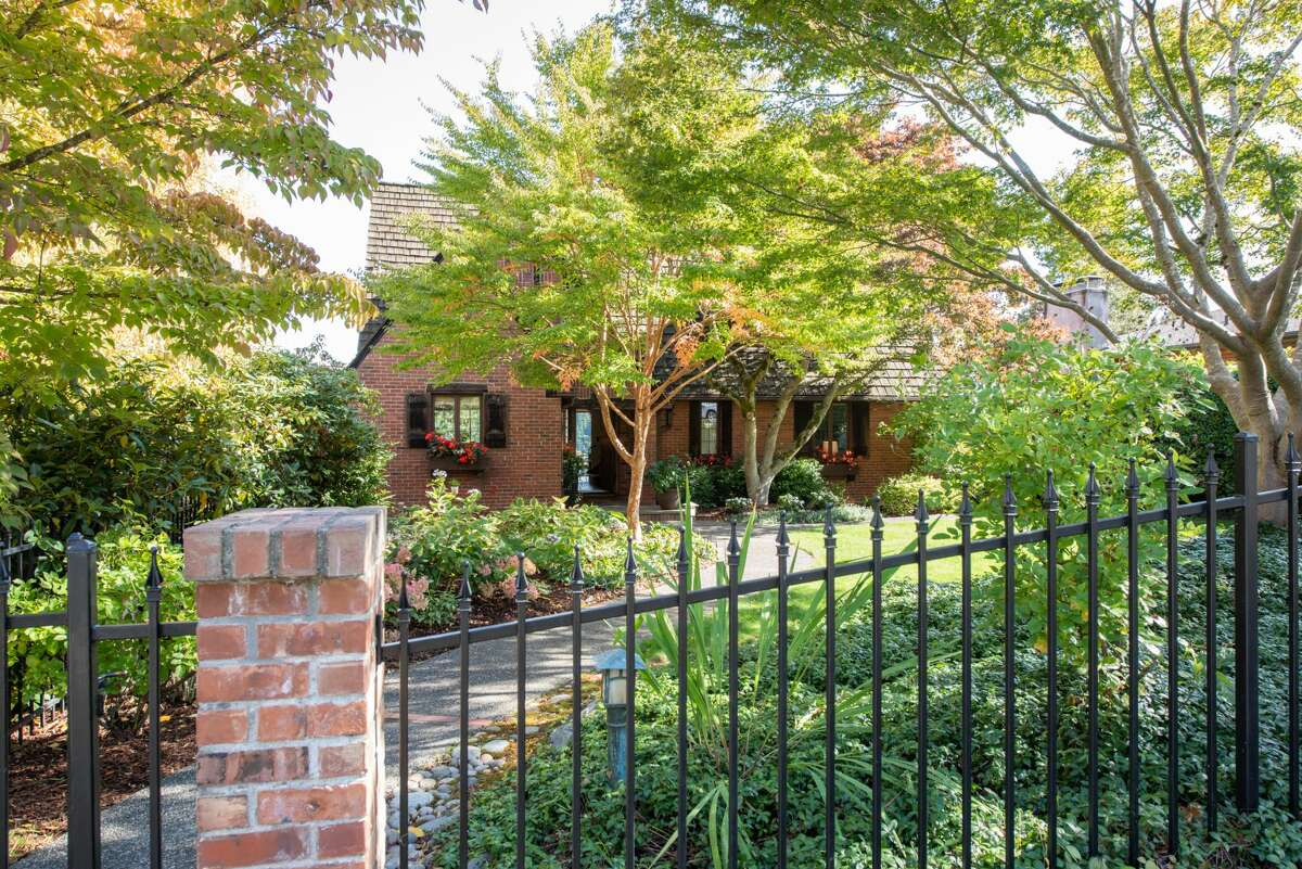 In the same family for over 40 years, Seward Park home has Tudor charm, views, and a $1.580M price tag