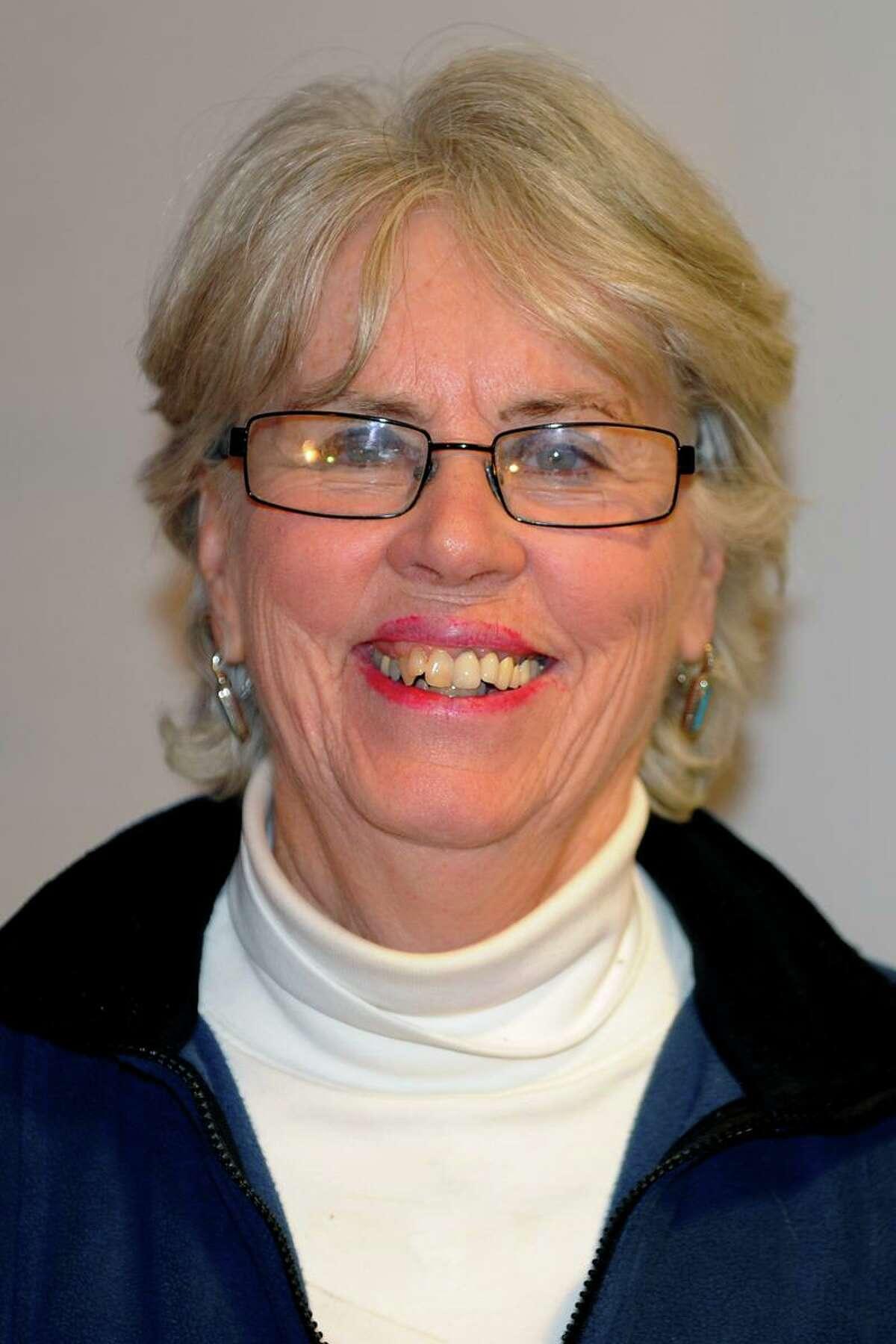 Judy Larkin Nicolari is seeking a fourth term as Ansonia's city treasurer running on the Republican party ticket.