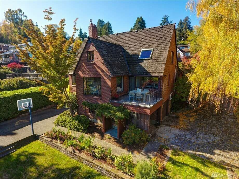 In the same family for over 40 years, Seward Park home has Tudor charm, views, and a $1.580M price tag  Photo:  Robert Brittingham Photography