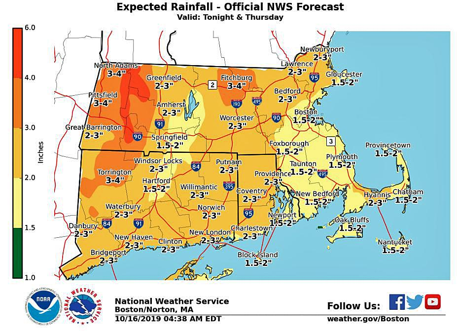 How much rain did we get?