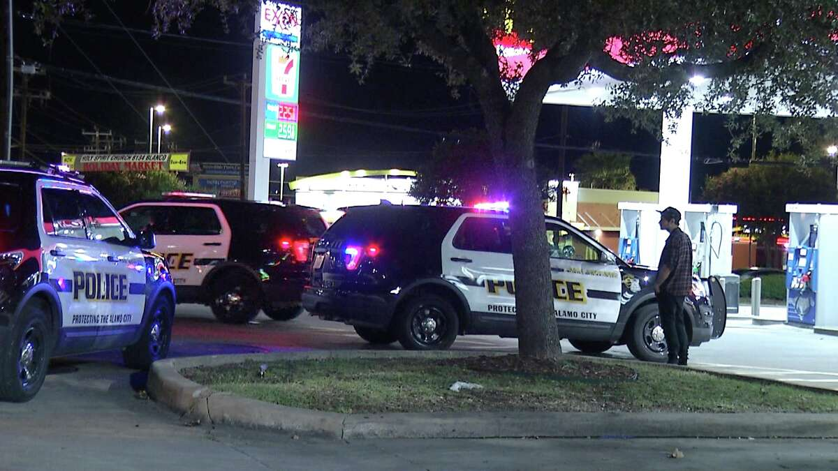 SAPD is searching for two men accused of an armed carjacking.